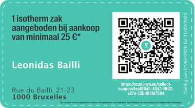 1000 - QR -  Leonidas Bailli NL-1