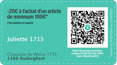 1160 - QR -  Juliette 1715