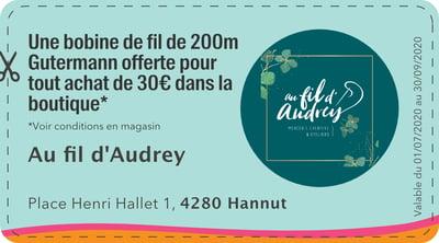 4280 - QR -Au fil dAudrey