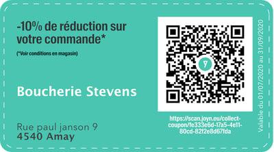 4540 - QR -  Boucherie Stevens