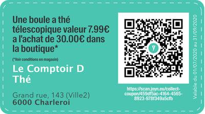 6000 - QR -  comptoir D thé