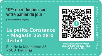 7500 - QR -  La petite Constance - Magasin bio zéro déchet